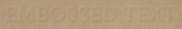 css embossed text effect