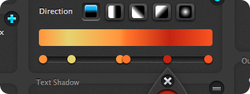 full control over css3 gradients