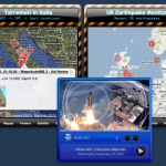 Terremoti in Italia, UK Earthquake Monitor & Nasa Video Podcast Viewer
