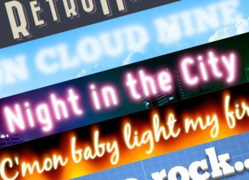 7 Great CSS based text effects using the text-shadow property