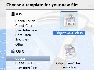 adding a new class in xCode