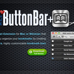 ButtonBar+ website