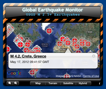 Global Earthquake Monitor
