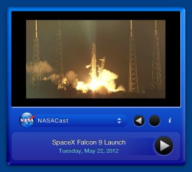 NASA Video Podcast Viewer