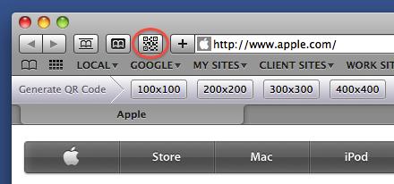 Safari QR Code Generator