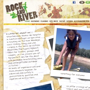 Rock and River website