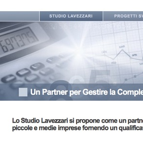 Studio Lavezzari website