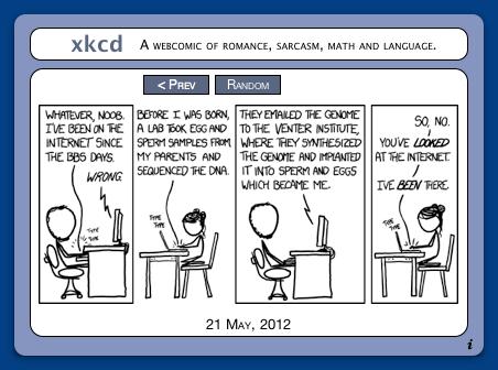 xkcd Widget