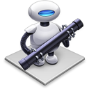 Automator icon from Mountain Lion