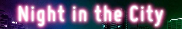 css city lights text effect