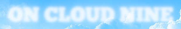 css cloudy text effect