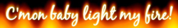 css burning text effect