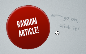 CSS3 Big Red Button!